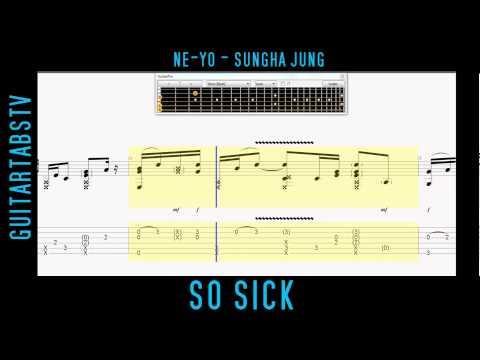 So Sick - Ne-Yo - Sungha Jung Fingerstyle Guitar FREE GPX & PDF TABS