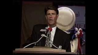 Jim Palmer 1992 Hall of Fame Induction Speech