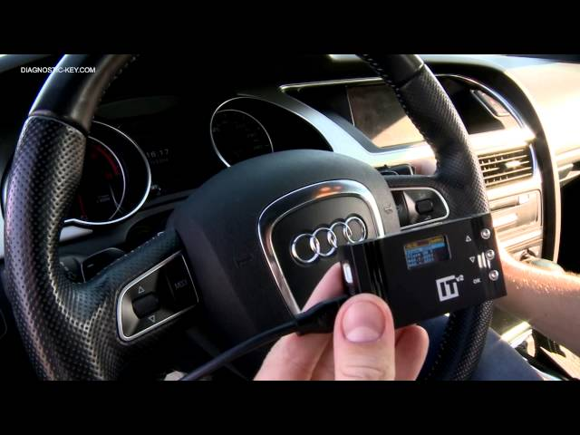 AUDI KEY PROGRAMMING PROGRAMMER A4 A5 Q5 - YouTube