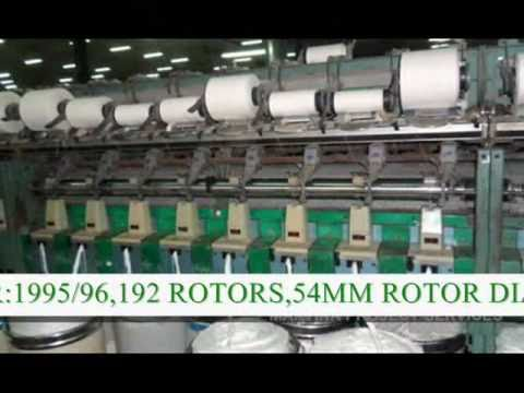 used textile machinery ELITEX OPEN END MACHINE OFFER BD-SD