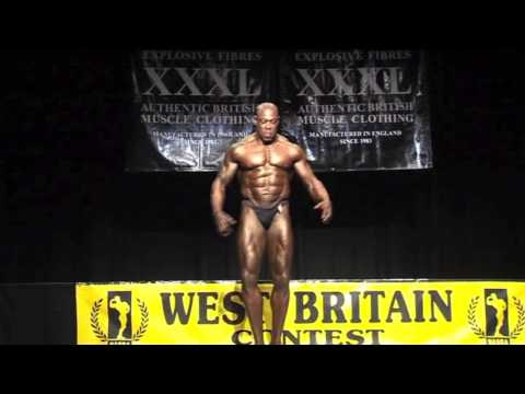 David Syd Lawrence - Cricketer Turned Bodybuilder - NABBA 2012 - West Britain Champion