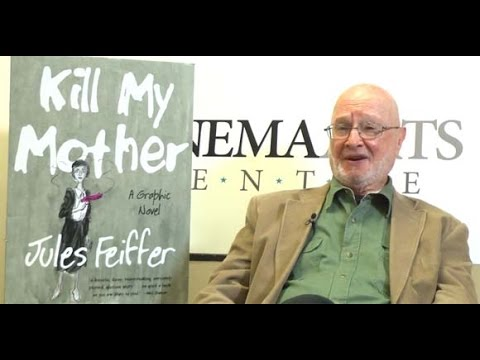 Conversation with Pulitzer Prize Winning Cartoonist Jules Feiffer at the Cinema Arts Centre