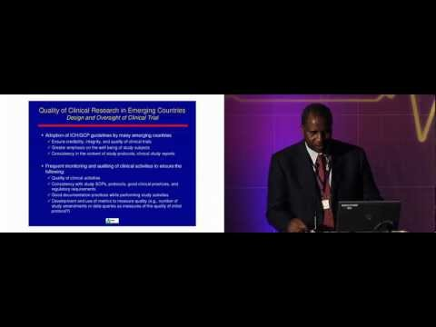 Emerging markets: clinical research- Dr Luwy Musey