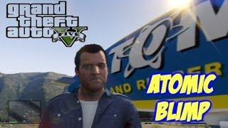 GTA V - ATOMIC BLIMP (Collector's Edition XBOX 360)