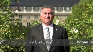 پیام همبستگی شاهزاده رضا پهلوی با مردم شجاع کوبانی