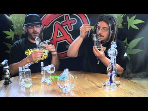 DAB LAB TV - HAMM'S WATERWORKS Scientific Glass Dab Rigs - Review