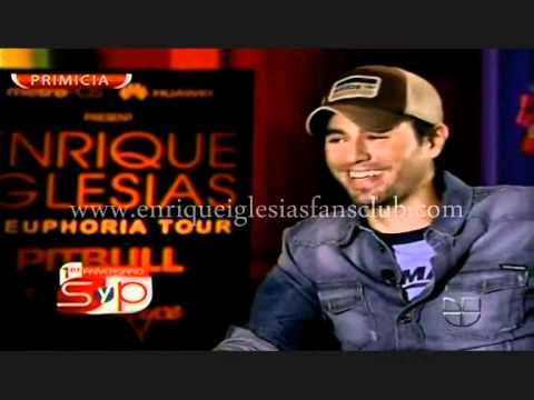ENRIQUE IGLESIAS INTERVIEW SAL Y PIMIENTA ANNA KOURNIKOVA JENNIFER LÓPEZ MOUTH TO MOUTH