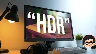 "Monitor Gaming 4K ""HDR"" Worth It ? 
