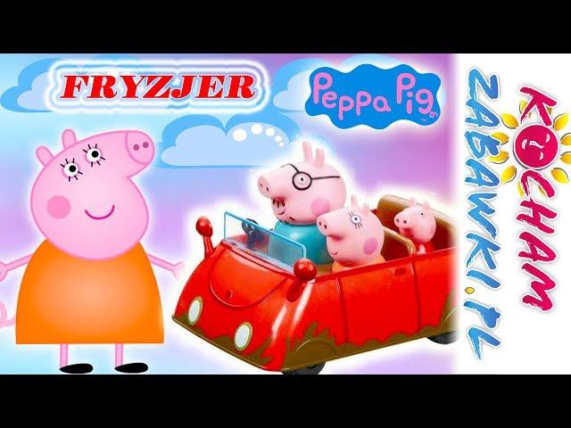 Świnka Peppa • Mama świnka u fryzjera • bajki po polsku