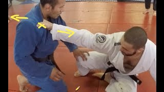 BJJ Tutorial - Powerful Guard Pass Prevention - Firas Zahabi