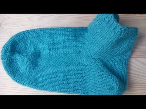 Socken stricken lernen super einfach - Woolpedia