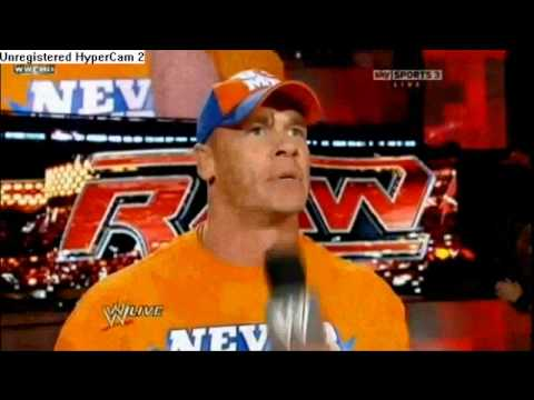 NEXUS VS TEAM CENATION - WWE SUMMERSLAM 2010