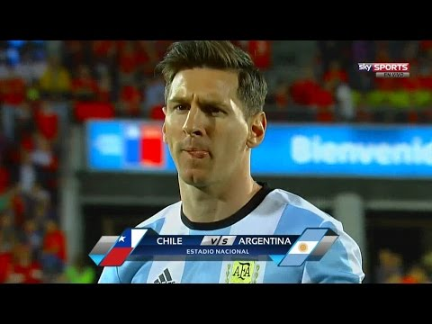 Lionel Messi vs Chile (Away) HD 720p (25/03/2016)