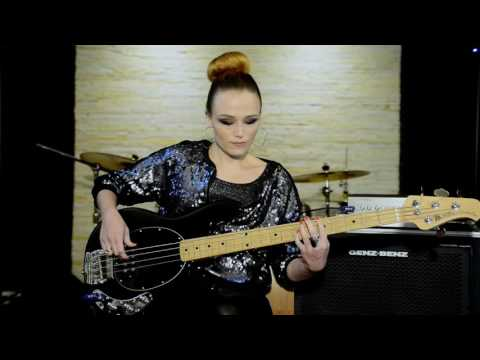Supermassive Black Hole - Muse - Bass Cover By Ingrid Richter