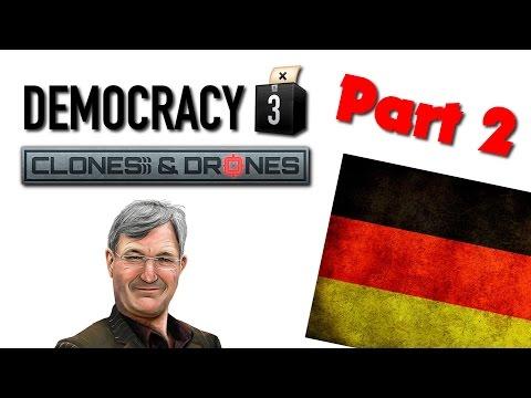 Democracy 3: Clones & Drones - Kind Germany - Part 2
