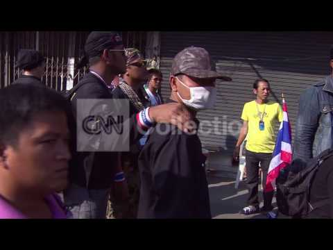 THAILAND: PROTEST VIOLENCE IN BANGKOK
