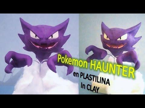 Como hacer a HAUNTER pokemon con plastilina. How To Make POKEMON HAUNTER IN CLAY