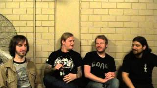 THE SWORD Interview in Australia
