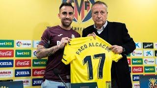 Rueda de prensa de presentación de Paco Alcácer