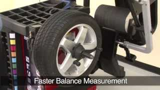 The Road Force Touch Wheel Balancing Machine by Hunter at a Glance