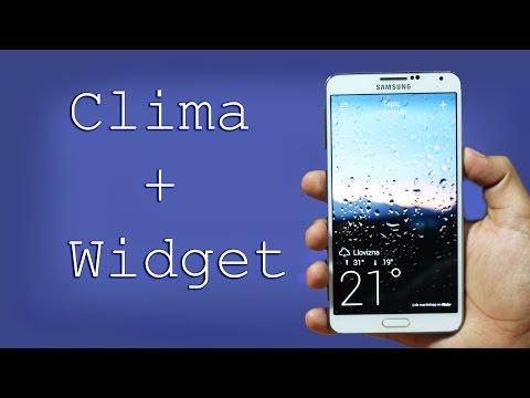 Mejor aplicación para Clima [Widget + Pronostico]   Tu Android Personal