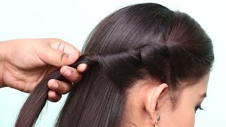 Last Minute Hairstyles for school/college/party || Everyday hairstyles || Hair style girl