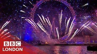The team behind London's NYE fireworks - BBC London