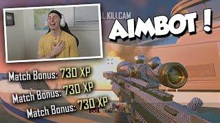 GIVING FANS AIMBOT WITHOUT TELLING THEM! (BO2 Aimbot Trickshotting)