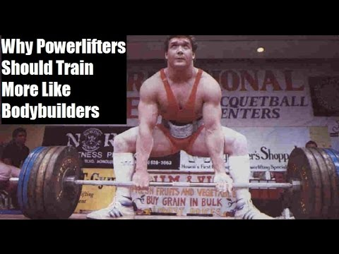 Why POWERLIFTERS Should Train More Like BODYBUILDERS