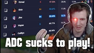 Hashinshin: ADC sucks to PLAY? | Why Bruisers are HATED by everyone! | KDA doesn't matter!