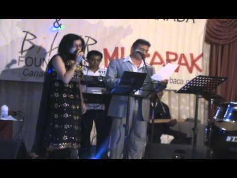 Mehboob Shaikh and Jonita Ghandhi Live - Chup Gaye Sare Nazare...
