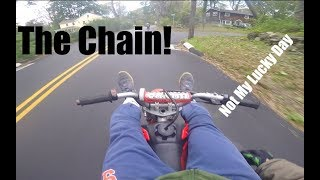 Pit Bike Adventures Ep 2. Chilling In Balance Point