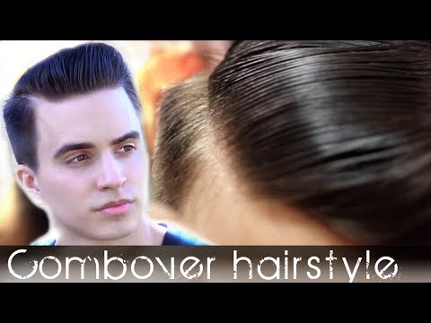 Comb Over mens hair - Classic hairstyle - How to style your hair so it will last all day