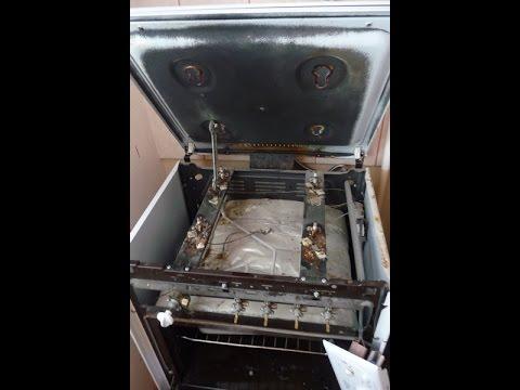 Как самим поменять газ плиту