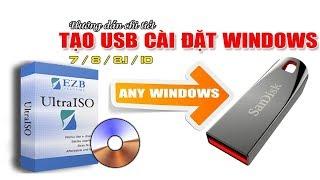 #NVTVlogTongHop | HƯỚNG DẪN TẠO USB BOOT (Multiboot) CÀI WINDOWS XP/7/8.1/10