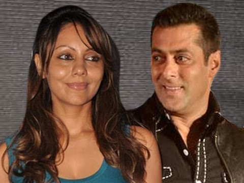 Bollywood Backstage - Shahrukh Khan's wife Gauri PARTIES with Salman Khan
