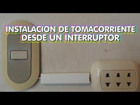 Instalacion Electrica de Tomacorriente desde un Interruptor - Teoria y Analisis - Parte1