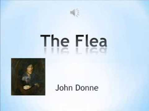 an analysis of the romantic poem the flea by john donne A brief reading of donne john donne- the flea   and it is certainly not meant to be taken as an in-depth analysis,  donne's poem hints not at stable.