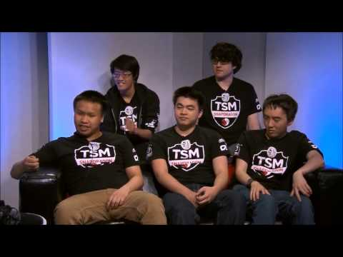 TSM wins LCS NA Spring I Winning Moment and Post-Game Interview