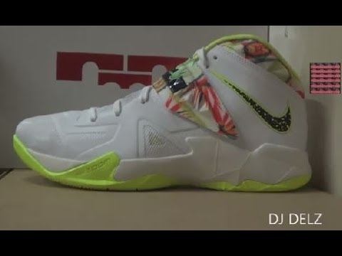 Nike Lebron Soldier VII Kings Pride Sneaker Review + On Feet With DJ Delz DJ Delz