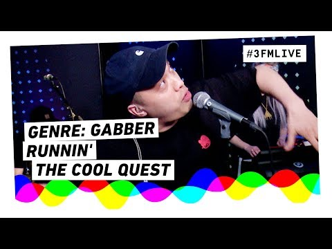 The Cool Quest - Runnin' (Domien Genremachine) | 3FM Live