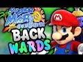 Super Mario Sunshine BACKWARDS!