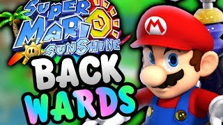Super Mario Sunshine BACKWARDS!