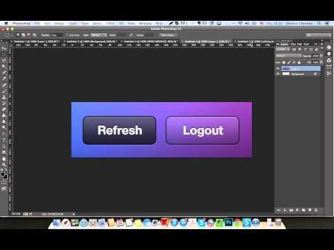 Как сделать в photoshop кнопку - Svbur.ru