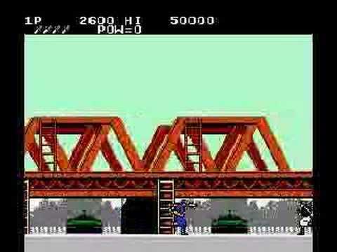 Rush 'N Attack NES Review/Walkthrough Pt. 1 of 2