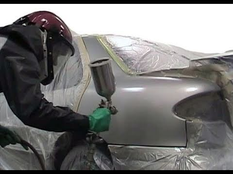 How to paint your car yourself auto body repair part 2 for Body paint auto