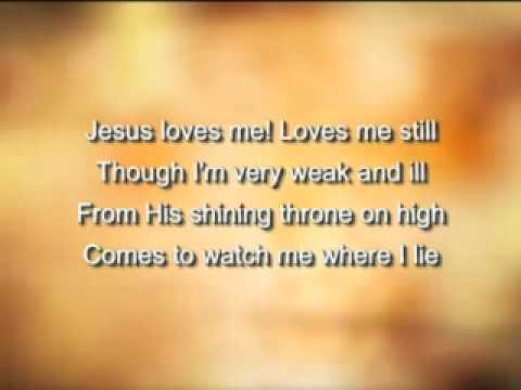 Jesus loves me this i know with sign language children s music