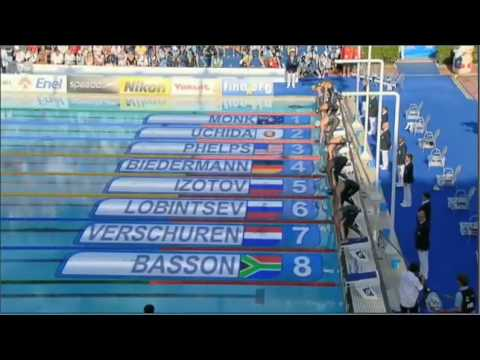 Men's 200 Freestyle Final (World Record) - Rome 2009