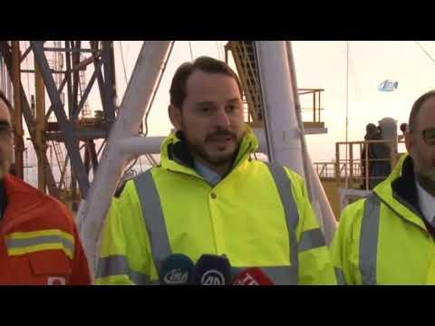 Türkiye'nin İlk Sondaj Gemisini Ziyaret Etti