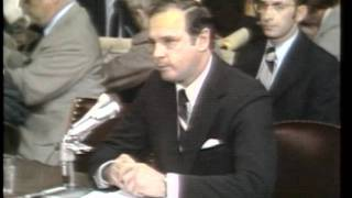 Alexander P. Butterfield Testifies During the Watergate Hearings
